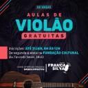 Emenda de França Silva da Rádio possibilita aulas de violão gratuitas em Vilhena