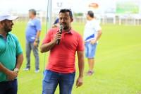 França Silva prestigia inauguração de obra no estádio municipal de Vilhena