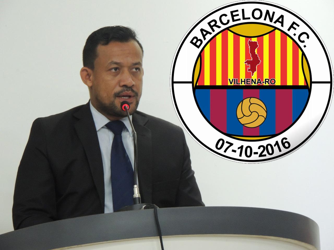 França Silva sente orgulho pelo alto nível de futebol que o Barcelona apresentou durante o Rondoniense