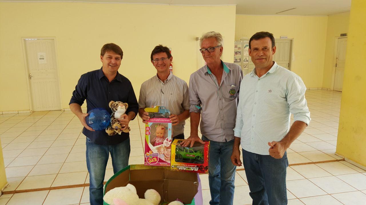 Golfetto, Suchi e Tabalipa realizaram campanha para arrecadar brinquedos para crianças carentes