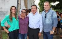 Leninha do Povo faz discurso emocionado no lançamento da reforma da policlínica João Luiz