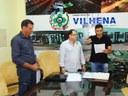 Marcos Cabeludo toma posse como vereador em Vilhena