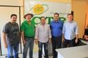 Maurão de Carvalho se reúne com presidente da Câmara Adilson de Oliveira e empresários para tratar sobre asfalto da BR até a CTR