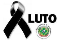 Nota de pesar da Câmara de Vilhena pelo falecimento da mãe do vereador Zé Duda