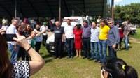 Nova Conquista ganha primeira ambulância em atendimento a pedido do PTN