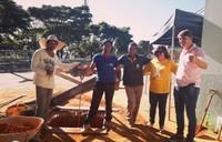 Pedido de obras de Leninha do Povo e Rogério Golfetto para Praça do Mensageiro é atendido pelo prefeito