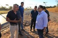 Presidente da Câmara apoia Dnit para manutenção de pátio na divisa entre Rondônia e Mato Grosso