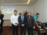 Presidente da Câmara participa de palestra sobre desenvolvimento urbano e sociedade civil organizada