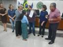 Presidente da Câmara prestigia final do JIR, entrega de Certificados do Terra Legal e Miss e Mister Terceira idade