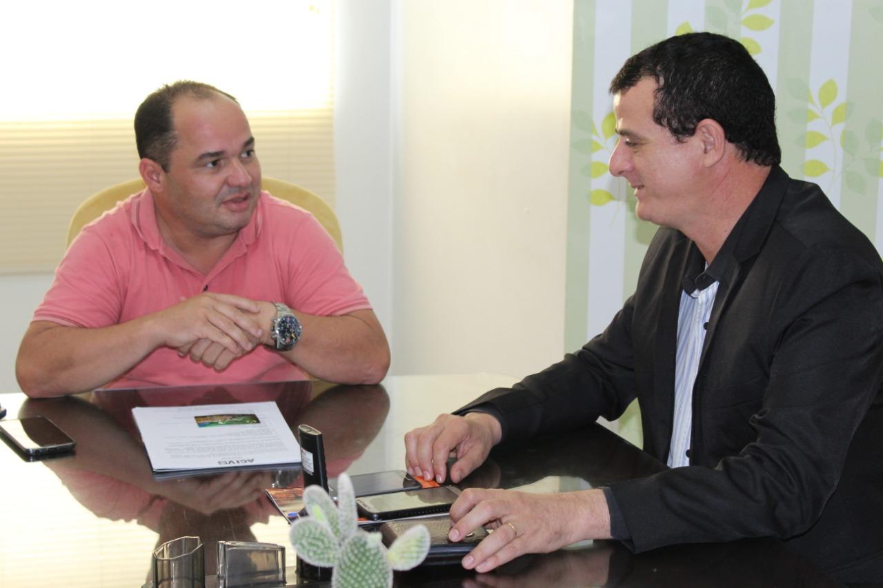 Presidente da Câmara se reúne com representante do governo e destaca demandas para Vilhena