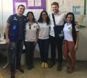 Rafael Maziero comemora entrega de kits de trabalho para Agentes Comunitários de Saúde