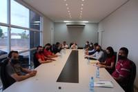 Referência: vereadores de Espigão do Oeste visitam Câmara de Vilhena para obter conhecimento