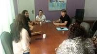 Rogério Golfetto acompanha conselheiras tutelares em reunião com a prefeita