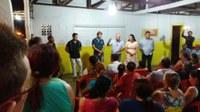 Rogério Golfetto, Rosani e moradores do setor 8 e 9 se reúnem para debater cobrança de asfalto