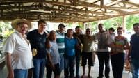 Rogério Golfetto visita Associação dos Pequenos Produtores do Perobal