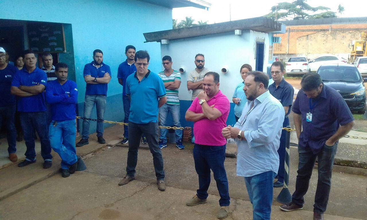 Ronildo Macedo aprova nomeação de novo diretor do SAAE de Vilhena