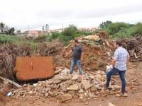 Ronildo Macedo e Samir Ali cobram providências na cratera da Macrodrenagem