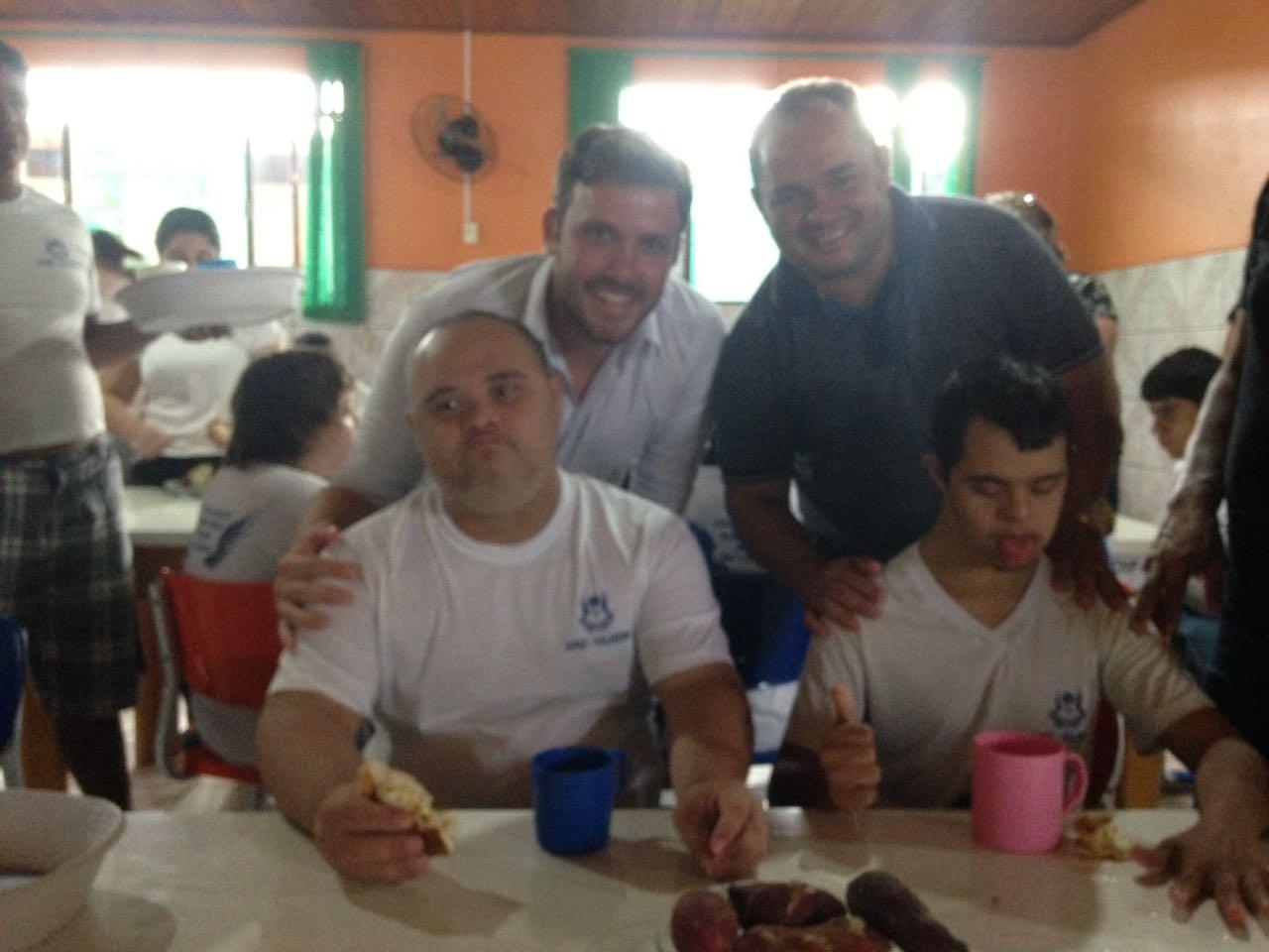 Ronildo Macedo e Samir Ali participam de comemorações do Dia Internacional da Síndrome de Down