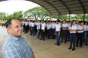 Ronildo Macedo prestigia abertura do ano letivo da escola militarizada Cristo Rei