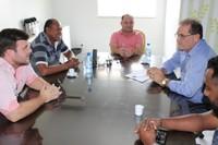 Ronildo Macedo recebe visita do superintendente do Sebrae