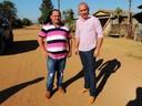 Ronildo Macedo solicita ao DER o asfaltamento total do bairro Cristo Rei