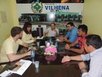 Secretária de Educação agradece Adilson de Oliveira pelo apoio à Educação em Vilhena