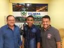 Vereador de Pimenteiras visita Câmara de Vilhena para conhecer gestão pública