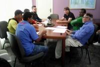 Vereador Rogério Golfetto debate melhorias e construção de base no setor 19 para mototaxistas