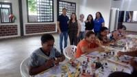 Vereador Rogério Golfetto visita Associação Beneficente Fraternidade Vilhenense