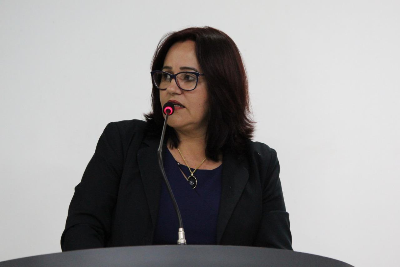 Vereadora Vera da Farmácia indica placas proibindo descarte de entulhos, com telefone para denúncias em pontos críticos de Vilhena