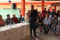 Vereadores acompanham inauguração de escola no Bairro Alphaville