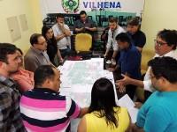 Vereadores indicam trechos que serão asfaltados à prefeita de Vilhena