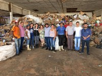 Vereadores intercedem para que Cooperativa de Catadores se una e receba benefícios da secretaria do Meio Ambiente