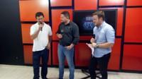 Vereadores Samir e Tabalipa explicam lei sobre doações em conta de água na TV Allamanda