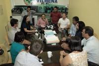 """Vereadores são convidados por prefeita para """"força tarefa"""" em Brasília atrás de recursos para Vilhena"""