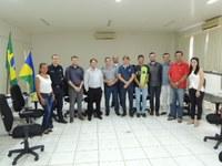 Vereadores se reúnem para debater ações do Maio Amarelo de 2017